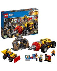 Lego City Mining Heavy Driller Building Blocks, Age 5+