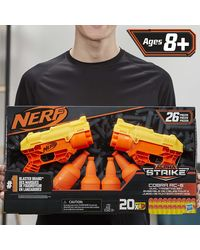 Nerf Alpha Strike Cobra RC 6 Duel Blasters with Targetting Set