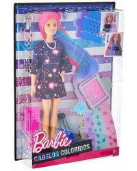 Barbie Color Surprise Hair Feature Doll, Age 5+